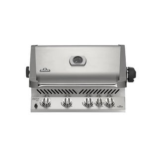 Napoleon BIP500RBN-2 Prestige 66000 BTU 31 Inch Wide Five Burner Natural Gas Built-In Grill with Inf
