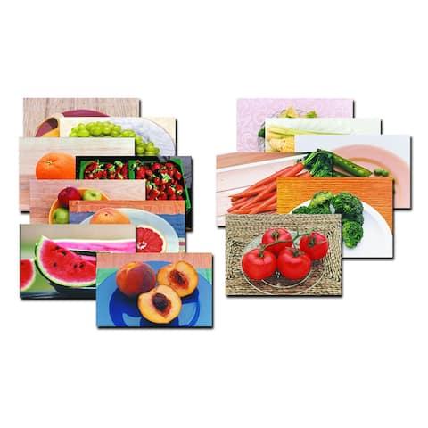 Fruits & Vegetables Poster Set-14