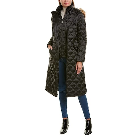 Laundry By Shelli Segal Maxi Puffer Down Coat