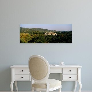 Easy Art Prints Panoramic Images's 'Temple in the forest, Jain Temple, Ranakpur, Rajasthan, India' Premium Canvas Art