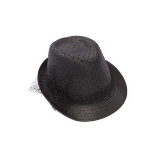 Womens Lace Fedora Hat