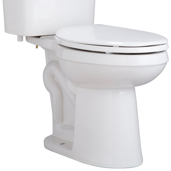 PROFLO PF9803 Ultra High Efficiency 0.8 Elongated ADA Height Toilet Bowl - White