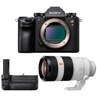 Link to Sony a9 Full Frame Mirrorless Camera w/ Telephoto Lens & Vertical Grip Similar Items in Digital Cameras