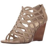 Adrienne Vittadini Womens Arndre Open Toe Casual Platform Sandals
