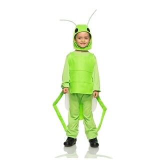 Flying Grasshopper Child Costume - Green