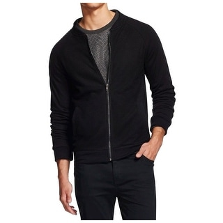 Sovereign Code NEW Solid Deep Black Mens Size Large L Full-Zip Jacket
