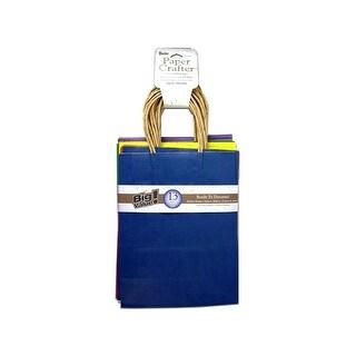 "Darice Paper Crafter Bag 8x10.25"" Value Pk Astd"