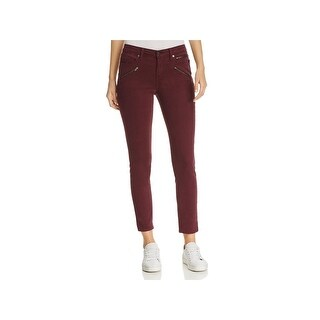 Kenneth Cole Womens Jess Colored Skinny Jeans Slim Fit Mid Rise