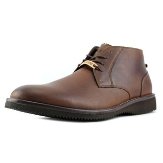 Dockers 4391241 Men Round Toe Leather Tan Boot