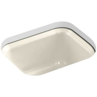 Kohler K-6589-U Single Basin Cast Iron Bar Sink from the Northland Series
