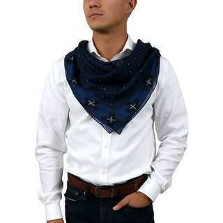 Link to Givenchy 1212GV SD898 1 Navy Blue Scarf - 47.30-47.30 Similar Items in Scarves & Wraps