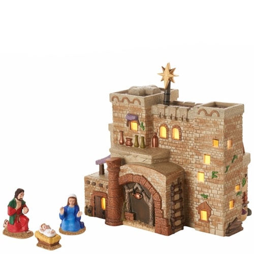 Department 56 4050943 Holy Land Little Town of Bethlehem The Inn at Bethlehem