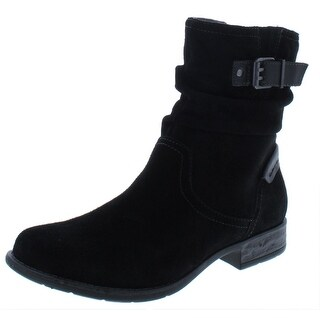 Link to Earth Womens Avani Butternut Ankle Boots Suede Slouchy Similar Items in Women's Shoes