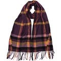 Winter or Fall Cold Weather Solid Color Long Cashmere Feel Scarf, Many Colors - Thumbnail 3