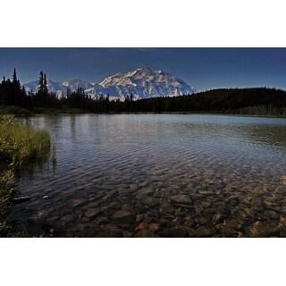 Lake And Mountain Landscape Photograph Art Print