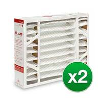 Replacement Pleated Air Filter For Honeywell F100F1004 Furnace 16x20x5 MERV 8 (2 Pack)