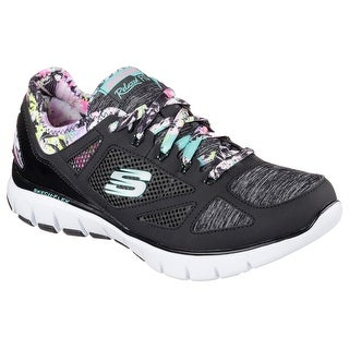 Skechers 12133 BKMT Women's SKECH FLEX-TROPICAL VIBE Training