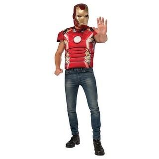 Avengers 2 Iron Man Mark 43 Costume Kit Adult Standard - Red