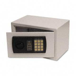 Personal Electronic Fire Safe with Bolt Kit 19lbs .3 Cu. Ft. Gray