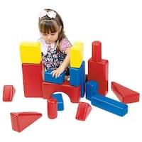 School Specialty Plastic Hollow Blocks, 17 Pieces