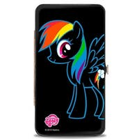 Rainbow Dash Outline Hinged Wallet - One Size Fits most