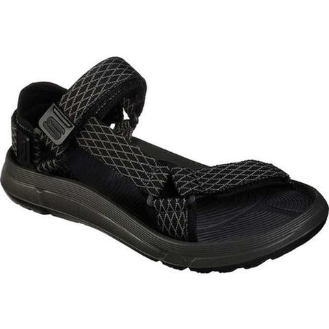 93642049f Skechers Men s Relaxed Fit Quinten Relando River Sandal Black