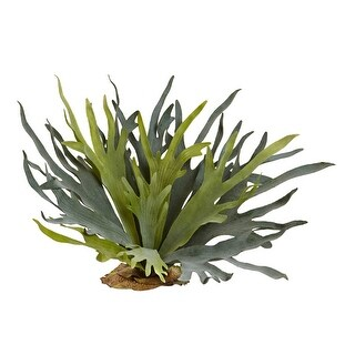 Nearly Natural 21 Staghorn Fern - Set of 2