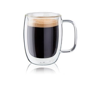 ZWILLING Sorrento Plus 2-pc Double-Wall Glass Double Espresso Mug Set
