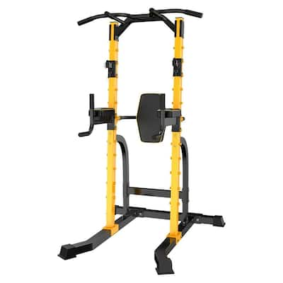 Zenova Power Tower Pull-up Bars Workout Dip Stands