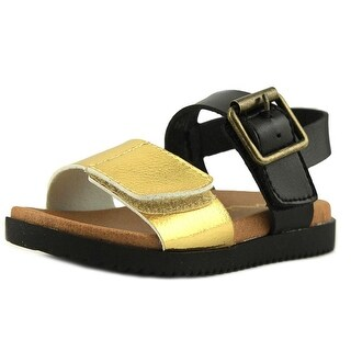 Nina Kathi Youth Open Toe Synthetic Black Sandals