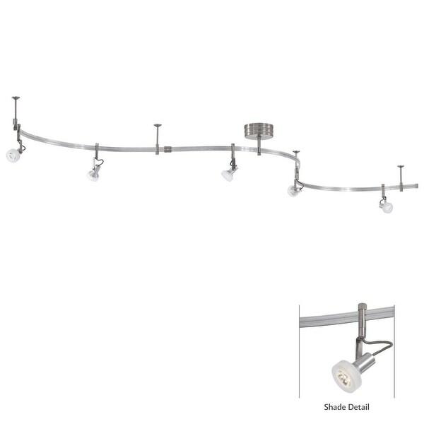 Kovacs P4305-084 5-Light LED Track Kit - satin nickel - N/A