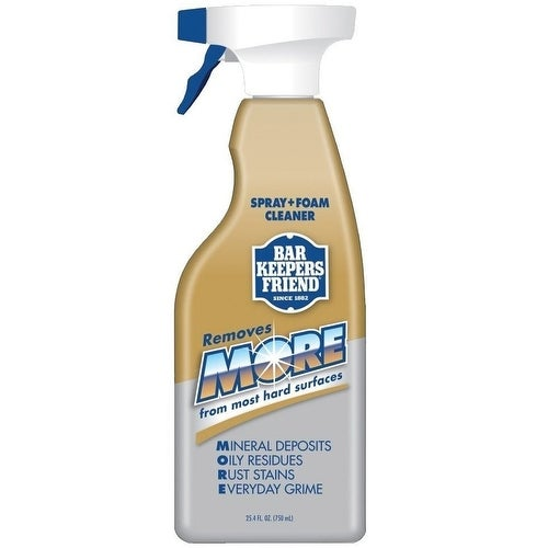 Bar Keepers Friend 11727 More Spray & Foam Cleaner, 25.4 Oz