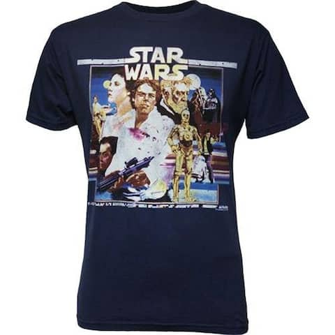 Star Wars Retro Movie Art Men's T-Shirt