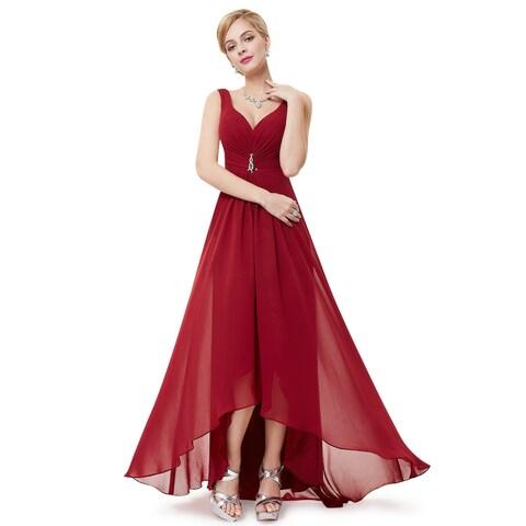 Ever-Pretty Womens Double v-neck Evening Dress 09983