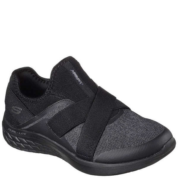 Shop Skechers Cirrus Sweet Impression Womens Slip On Sneakers Black 11 -  Free Shipping Today - Overstock.com - 25592823 0c238aa6eb