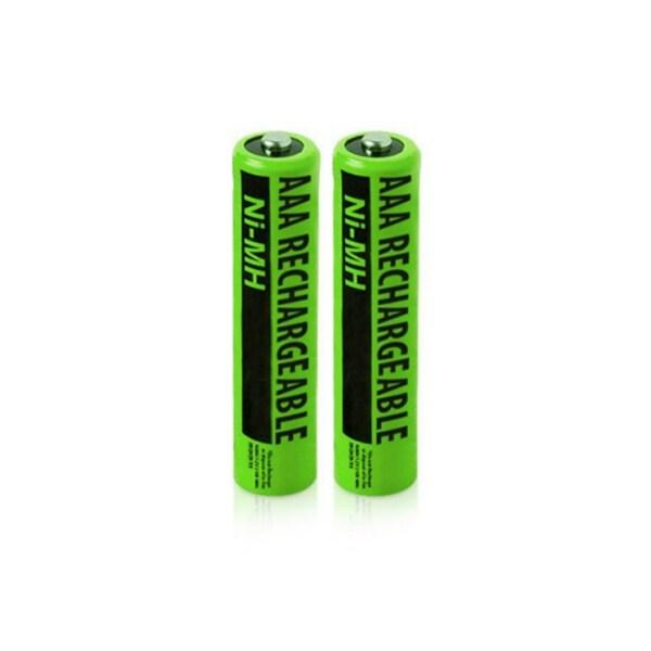 Replacement Panasonic NiMH AAA Cordless Phone Battery - 630mAh / 1.2v (2 Pack)