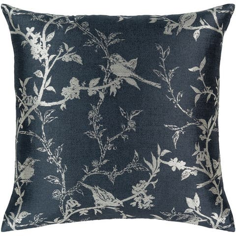 Silver Orchid Robson 18-inch Throw Down or Poly Filled Throw Pillow