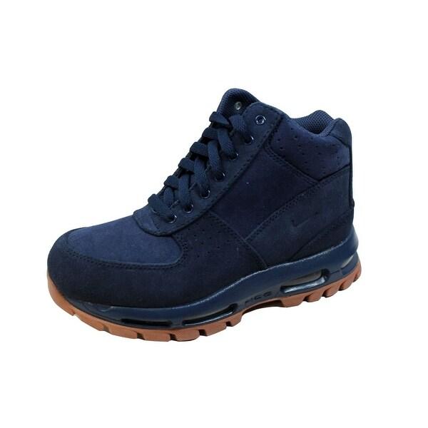 low priced 5294d 929fb Nike Grade-School Air Max Goadome Midnight Navy Midnight Navy 311567-400