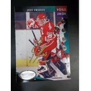 Signed Friesen Jeff Team Canada 1993 Parkhurst Hockey Card autographed