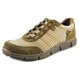 Skechers Broger-Kenster Round Toe Canvas Sneakers