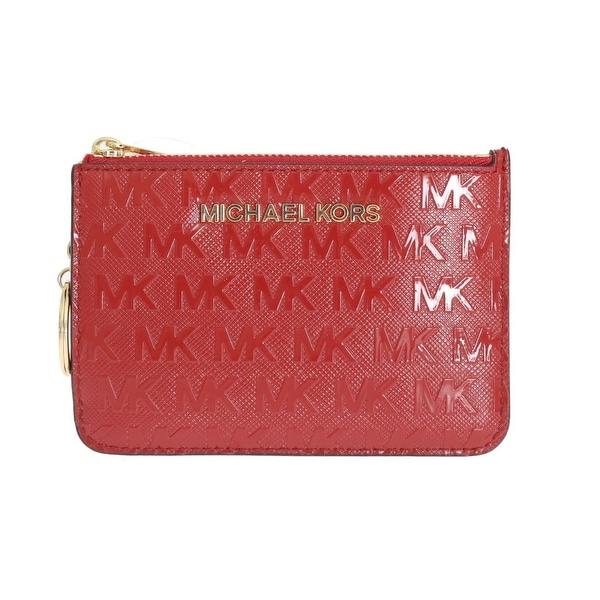 Michael kors Michael kors Red GIFTABLES Key Ring Pouch Wallet - One size