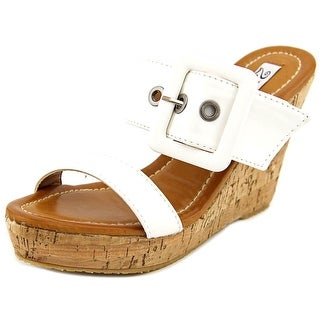 Two Lips Too Finesse Women Open Toe Synthetic Wedge Sandal