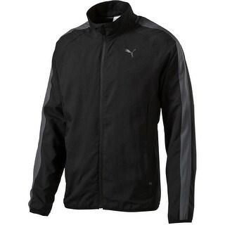 Puma Mens Track Jacket Woven Colorblock - M