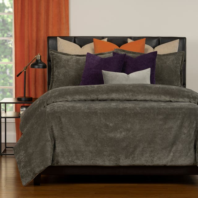 Mixology Padma 10 Piece Duvet Cover and Insert Set - Umber - Full