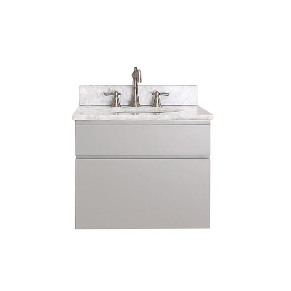 Avanity Tribeca V60 60 Wood Wall Mounted Vanity Cabinet Only Free Shipping Today 22057356