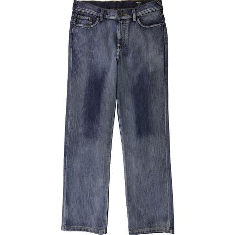 Ring of Fire Boys Pocket Design Straight Leg Jeans, blue, XL (18) - XL (18)