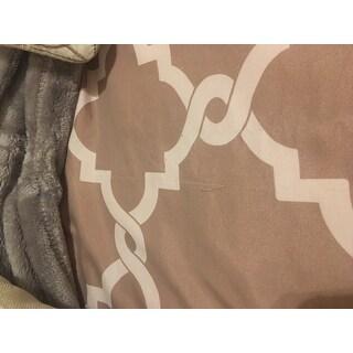 Madison Park Diablo Taupe 6-piece Reversible Duvet Cover Set