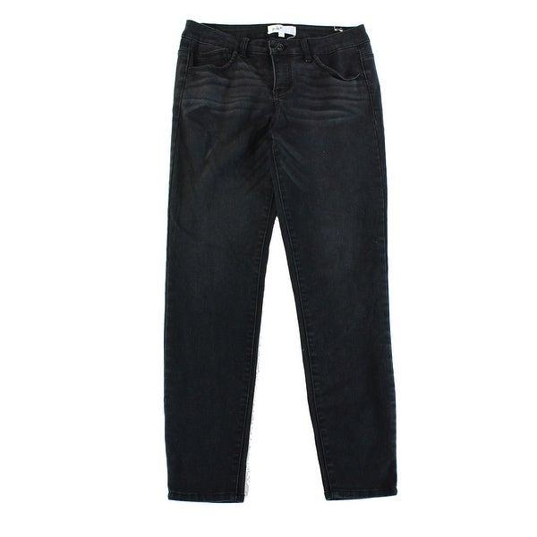 69190044f42 JOLT NEW Blue Dark Wash Denim Size 9x28 5-Pocket Junior Straight Leg