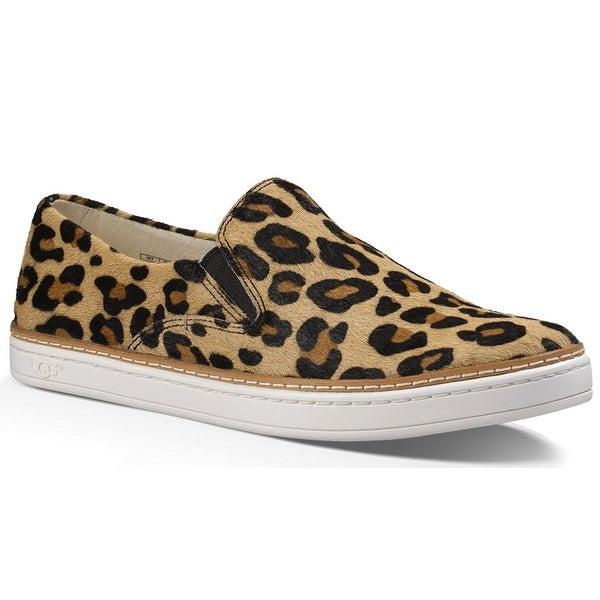 Ugg Womens keile Calf Calf Hair Closed Toe Loafers - 6.5