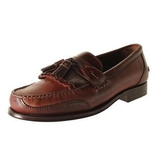 Neil M Mens Murphy Leather Moc-Toe Tassel Loafers - 9 narrow (c)